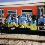 TRENI: 556.000 euro per rimuovere i graffiti dai treni toscani