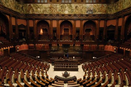 Roma domenica visite e concerti a montecitorio ed al for Diretta camera deputati
