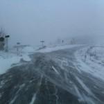MALTEMPO: Ancora neve in Toscana. Ed in Mugello, dove in alcune zone nevica ancora, il maltempo ha influenzato l'affluenza ai seggi