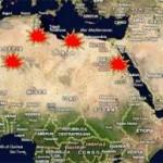 MEDIO ORIENTE IN FIAMME: la mappa delle rivolte