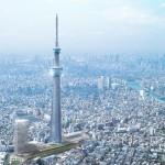 TOKYO: nuovo record di altezza per la Sky Tree