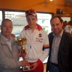 CICLISMO: Andrea Di Marco vince sotto la pioggia il Trofeo Amilcare Giovannini