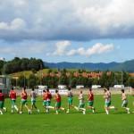 CALCIO: Primo giorno di lavoro per la Fortis Juventus