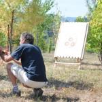 Mugello 88 e Arcieri Borgo Tantola per un giorno a Bilancino a far provare il tiro con l'arco