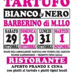 BARBERINO: da Sabato al via la 7° edizione della mostra mercato del tartufo