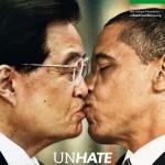 """Il """"bacio contro l'odio"""" tra il Papa e l'Imam scandalizza il Vaticano. Benetton ritira il fotomontaggio."""