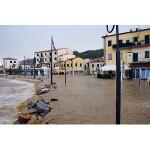Il dopo-alluvione all'Isola d'Elba: 150 volontari e 39 mezzi in azione a Marina di Campo