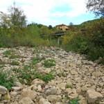 CARZA: Sempre piu secca, ma intanto sembra in partenza il riutilizzo delle acque delle gallerie