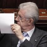 GOVERNO: Dopo il Senato il si della Camera a Monti. 556 i voti favorevoli