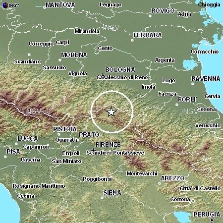 terremoto appennino novembre 2011