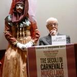 LIBRI: Presentata al Teatro Giotto l'opera di Aldo Giovannini dedicata al Carnevale Mugellano. La Fotocronaca