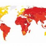 CORRUZIONE: Italia sempre peggio, in Europa solo Grecia e Bulgaria dietro. Nuova Zelanda, Danimarca e Finlandia le più virtuose