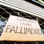 CRISI: Crescono i fallimenti. La Lombardia guida la classifica
