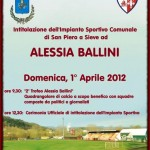 Gli impianti sportivi di San Piero a Sieve porteranno il nome di Alessia Ballini