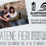 """BILANCINO: Il 25 marzo tornano le """"Iniziative oceaniche"""". Tutti insieme per pulire il lago."""