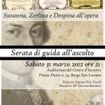 """Borgo San Lorenzo: una serata con la trilogia comica di Mozart-Da Ponte in compagnia di """"Note dal Mugello"""""""