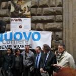 FIRENZE: Continua la mobilitazione per il Nuovo Corriere. Tanta solidarietà e si attendono buone notizie il 2 aprile