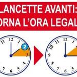 ORA LEGALE: Stanotte lancette avanti di un'ora. Perderemo un'ora di sonno, ma servirà a risparmiare. I consigli degli esperti per affrontarla