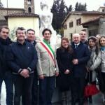 SIECI: Inaugurata Piazza Albizi, un nuovo volto per uno dei punti principali della frazione di Pontassieve