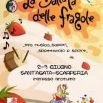 """A Sant'Agata torna """"La Ballata delle Fragole"""" tra musica, sapori, sport e spettacolo"""