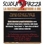 """BARBERINO: Genitori ed alunni insieme per """"Scuola in Piazza"""" il 27 maggio"""