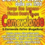 BORGO SAN LORENZO: Sabato impazza il Carnevale….estivo!