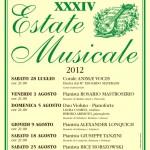MUSICA: A Castagno d'Andrea torna l'Estate Musicale con musicisti di valore assoluto