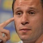 CALCIO: Cassano multato dall'UEFA per la sua frase sull'omosessualità durante gli Europei