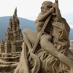 MARINA DI PISTICCI: Giganti di Sabbia in gara con opere dedicate all'apocalisse ed ai Maya