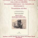 PONTASSIEVE: Venerdì si presenta la storia di Monte Giovi partigiana ed il libro ad essa dedicato