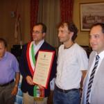 BORGO SAN LORENZO: Calcaterra diventa ambasciatore dello sport
