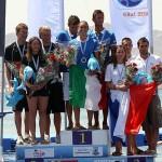 NUOTO: Vittoria bis per gli azzurri nella gara a squadre nel mare di Piombino