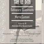 BARBERINO: Grande serata di letteratura dedicata a Quasimodo