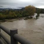 PONTASSIEVE: Situazione meteo migliora ma ponte di Rosano resta chiuso per precauzione