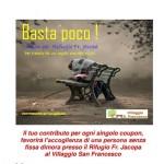 ACCOGLIENZA: Un regalo di Natale aiutando i senza tetto presso il Rifugio Frate Jacopa