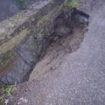 PANICAGLIA: Cede parte del ponte sul Rio Morto. Chiusa la strada del Salto