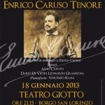 """BORGO SAN LORENZO: Il 18 gennaio """"Serata d'Onore"""" con tre tenori che ripercorreranno il cammino di Caruso"""