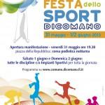 DICOMANO: Fine settimana dedicato alla festa dello sport