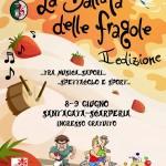 """SANT'AGATA: Torna la """"Ballata delle fragole"""" tra musica, arte, sport e divertimento"""