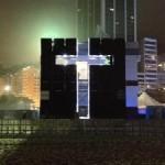 """RIO: In occasione della GMG inaugurata la """"Croce di Luce"""" di fabbricazione italiana"""