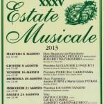 CASTAGNO D'ANDREA: L'Estate Musicale, con grandi nomi, tocca quota 35 edizioni