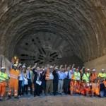 VARIANTE DI VALICO: Completato, in tempi record, lo scavo della galleria Sparvo