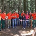 MONTE SENARIO: Inaugurato il sentiero didattico-naturalistico dedicato ad Andrea Zampiero