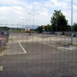 BORGO SAN LORENZO: Nuovo look per il parcheggio davanti alle scuole superiori