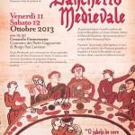 """SAN CARLO: L'11 e il 12 ottobre torna il """"Banchetto Medievale""""."""