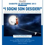 """GESTALT: """"I sogni son desideri"""" sabato 26 a Ponte a Vicchio"""