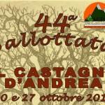 FIERE E SAGRE: torna per due domeniche la 'Ballottata', la sagra del marrone di Castagno d'Andrea