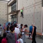 """PONTASSIEVE: Inaugurata la nuova parte di arrampicata insieme al CAI, alla Scuola """"Calvino"""""""