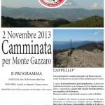 PASSO DELLA FUTA: Passeggiata per protestare contro il parco eolico del Monte Gazzaro