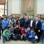PALLAMANO: Le nazionali under 18 uzbeke ospiti di Borgo San Lorenzo per un gemellaggio sportivo
